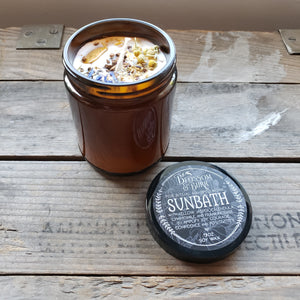 """Sunbath"" Soy Spell Candle"