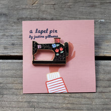 Load image into Gallery viewer, Sewing Machine Enamel Pin