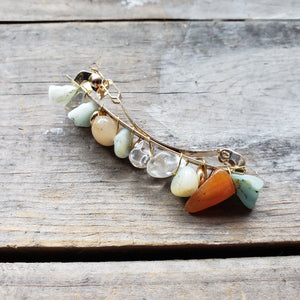 Gemstone Barrette Hairclip