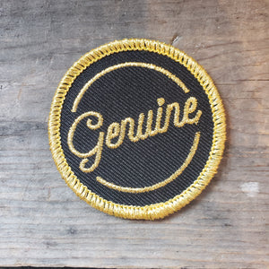 """Genuine"" Patch"