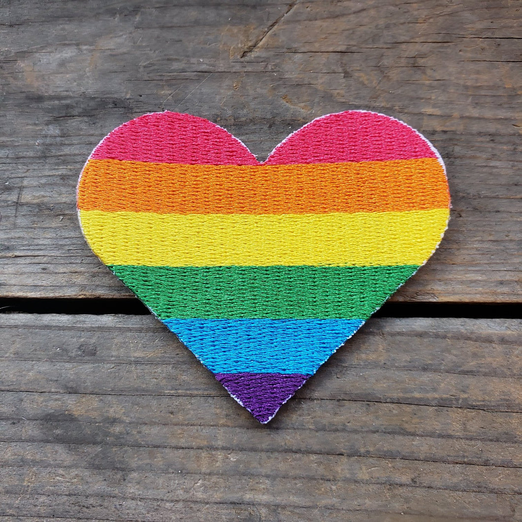 Pride Heart Patch