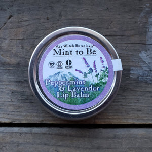 """Mint to Be"" Peppermint Lavender Lip Balm"