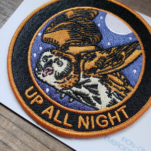 """Up All Night"" Patch"