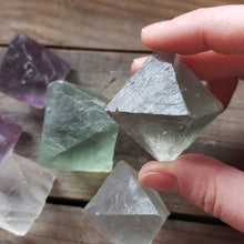 Load image into Gallery viewer, Rough Fluorite Octahedron