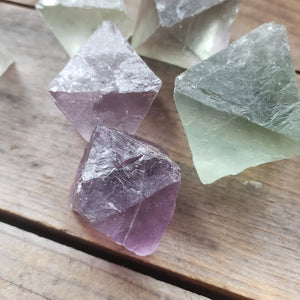 Rough Fluorite Octahedron