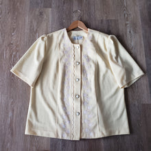 Load image into Gallery viewer, 80s Vintage Floral Embroidered Jacket