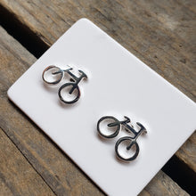 Load image into Gallery viewer, Polished Sterling Silver Bicycle Studs