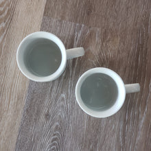 Load image into Gallery viewer, Vintage Ceramic Mugs (set of 2)