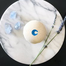 Load image into Gallery viewer, Celestite Crystal Core™ Bath Bomb