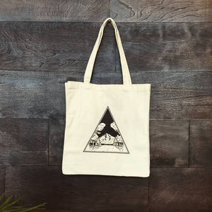 Mount Hood Canvas Tote
