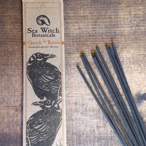 """Quoth the Raven""  Orange, Cinnamon, and Clove Incense"