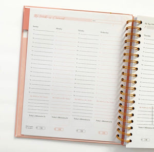 Multi-Colored: New 2021 Undated Covered Planner - Late January Shipment