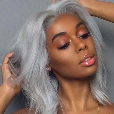 Best Short White Gray Hot Wigs