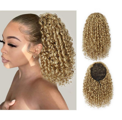 Synthetic Curly Drawstring Ponytail for Women