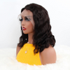 35CM Body Wave Short Bob Lace Front Human Hair Wigs