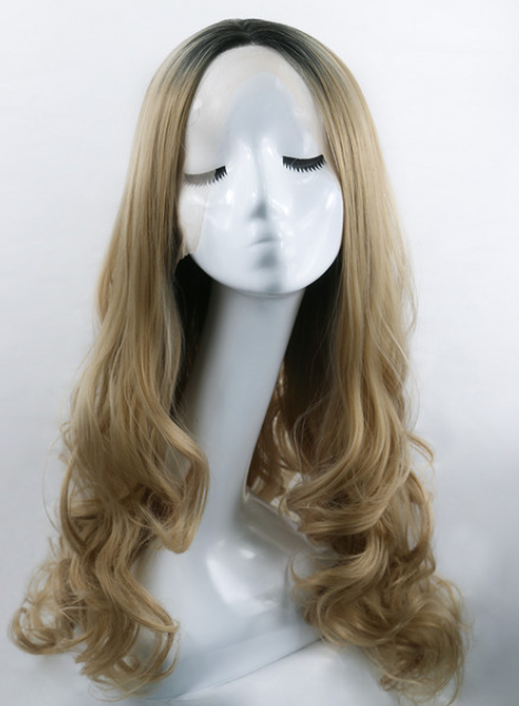 Champagne Synthetic Lace Front Wig