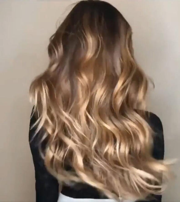 Long Water Wavy Natural Blonde Hot Wigs