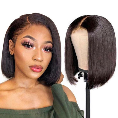 Fashion | Short Straight Bob Lace Front Wigs