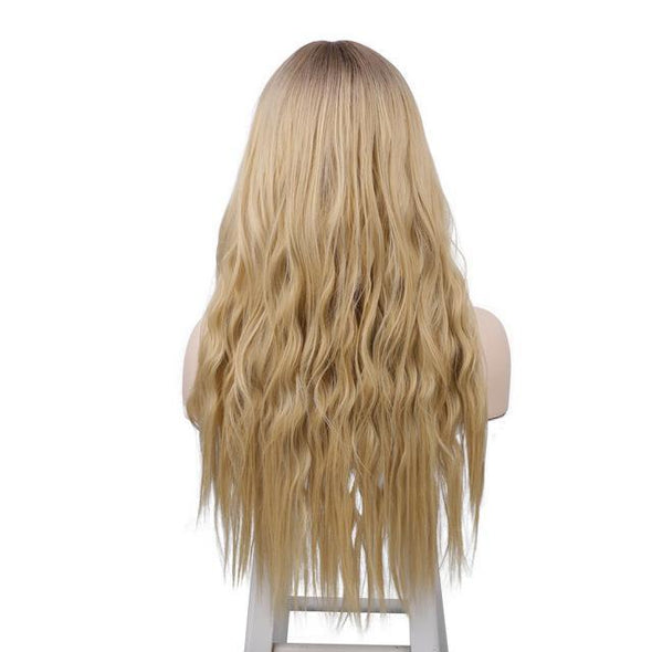 2021 Hot Blonde Curl Mini Lace Front Wigs