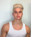 Hot Short Natural Blonde Men Wigs
