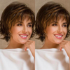 2020 New Charming Brown Short Wig