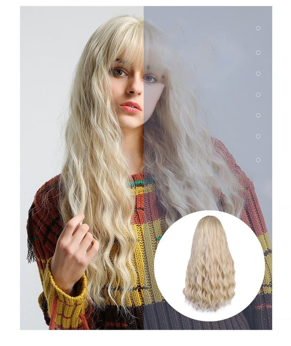 Light Blonde Synthetic wig