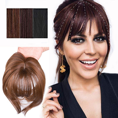 Hairpieces Clip In Bangs Hair Extensions