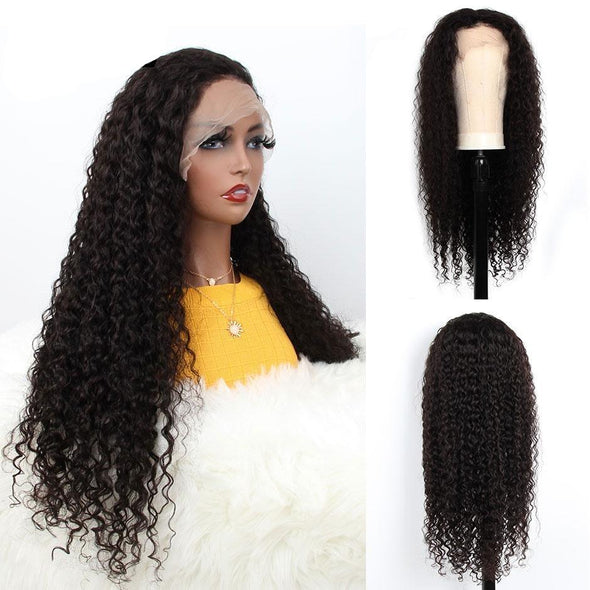 Brazilian Water Wave 360 Lace Front Human Hair Wigs