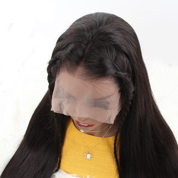 Straight 360 Lace Front Human Hair Wigs