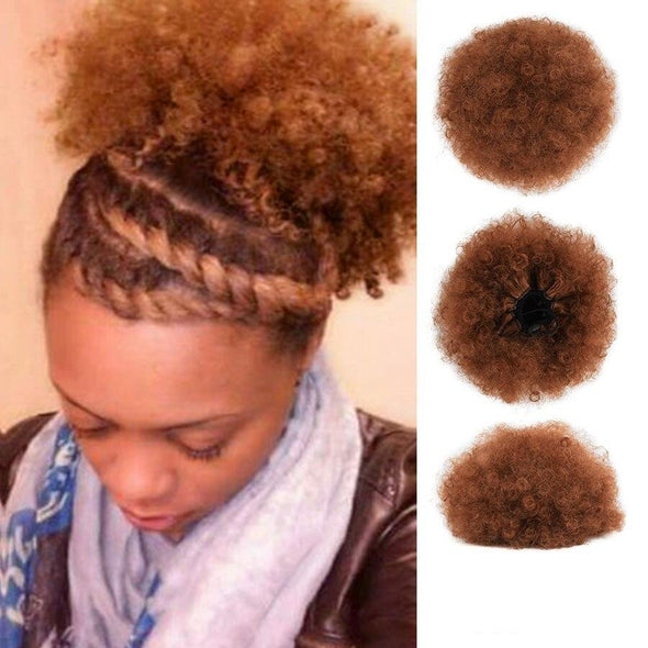 Natural Synthetic Hair Bun Ponytails Extensions