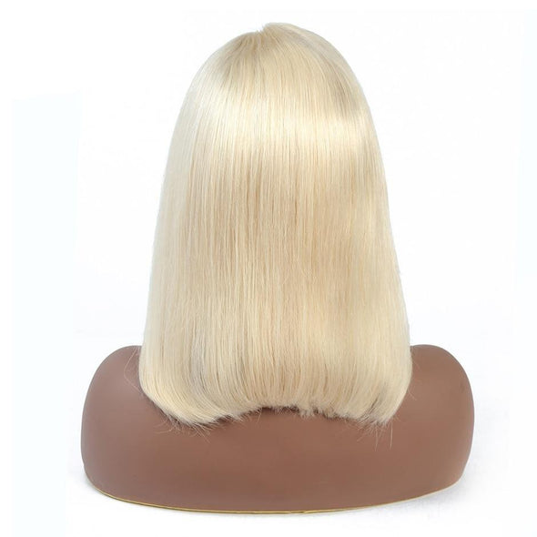 Honey Blonde Bob 13X4 Short Lace Front Human Hair Wigs