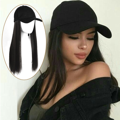 24inch Long Cap Hair Extension Hot Wigs