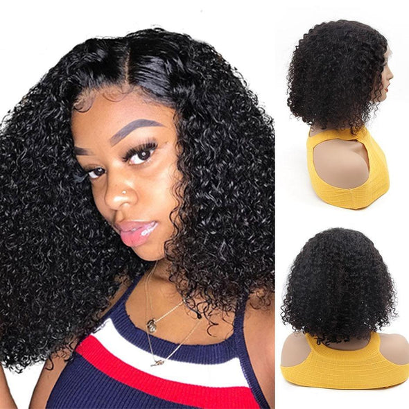 Water Wave Bob 13X6 Lace Front Human Hair Wigs