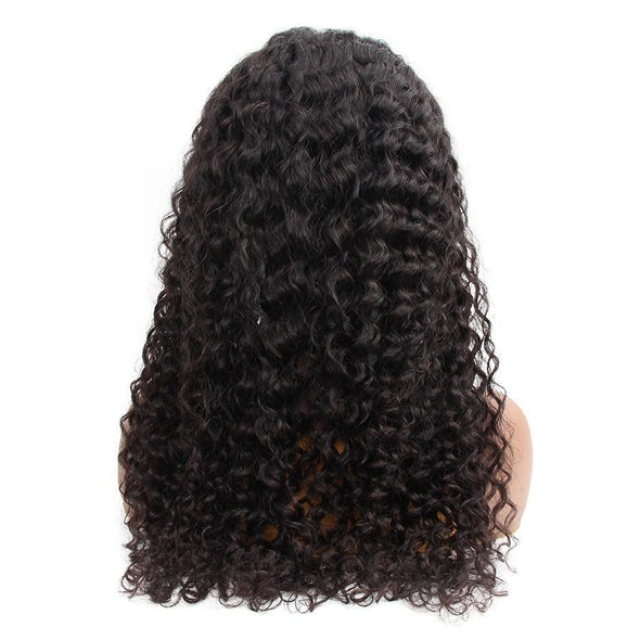 Brazilian Water Wave 4x4 Lace Front Human Hair Wigs
