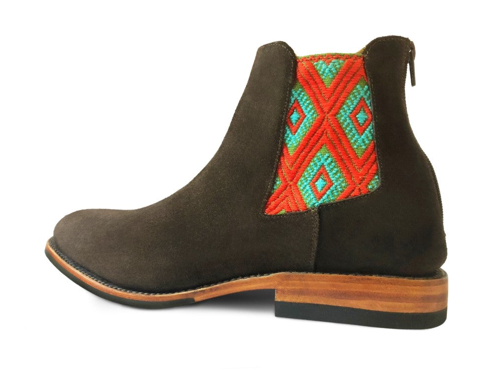 men's handcrafted small batch leather boots, made in mexico by independent artisans