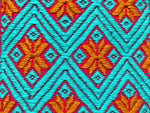 hand woven textile patch, made by independent women weavers in Chiapas, Mexico