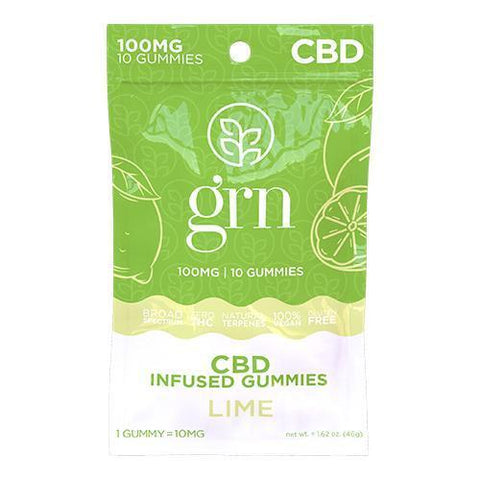 LIME BY GRN CBD | 100 MG CBD GUMMIES - CBD Oil Online Store | Shop CBD Oil, Gummies, Balm, Capsules, Disposable, CBD For Pets, CBD Lotion, CBD Vape Devices & Cartridges,  CBD Tinctures and Spray