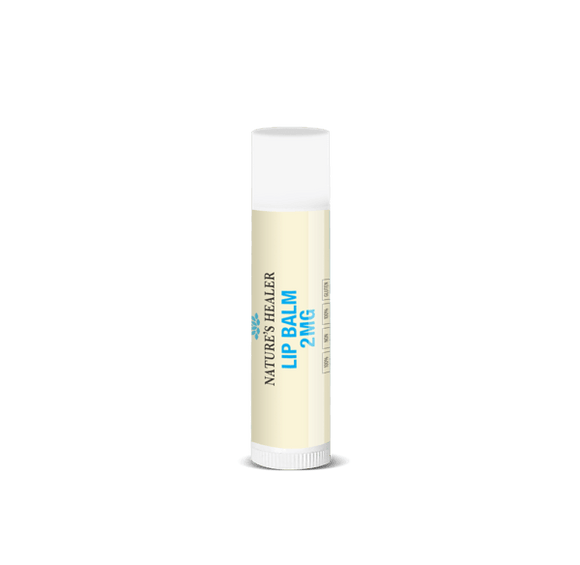 2MG Peppermint Lip Balm by Nature's Healer - CBD Oil Online Store | Shop CBD Oil, Gummies, Balm, Capsules, Disposable, CBD For Pets, CBD Lotion, CBD Vape Devices & Cartridges,  CBD Tinctures and Spray