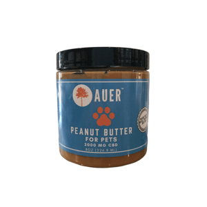 Peanut Butter For Pet – 2000 MG by Auer CBD - Hemp Oil Online Store
