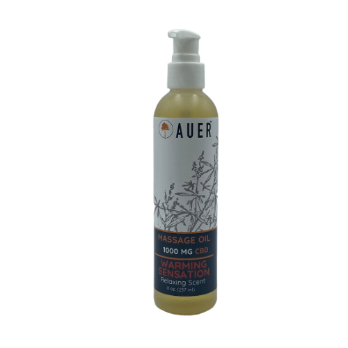 MASSAGE OIL - WARMING SENSATION | 100 MG