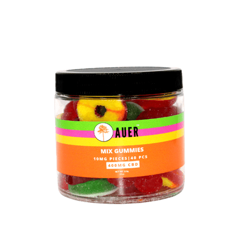 Mixed Gummy Jar – 400mg CBD by Auer CBD