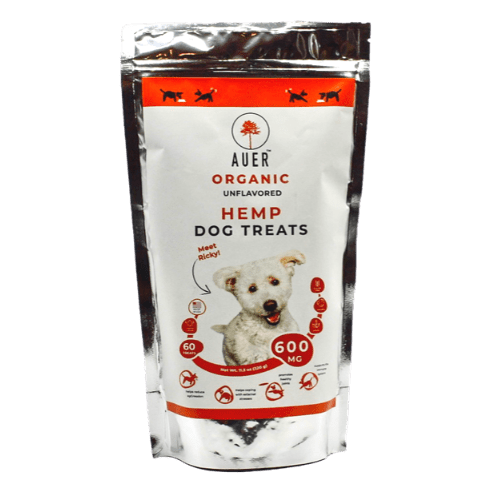 ORGANIC CBD DOG TREAT BY AUER CBD | 600 MG
