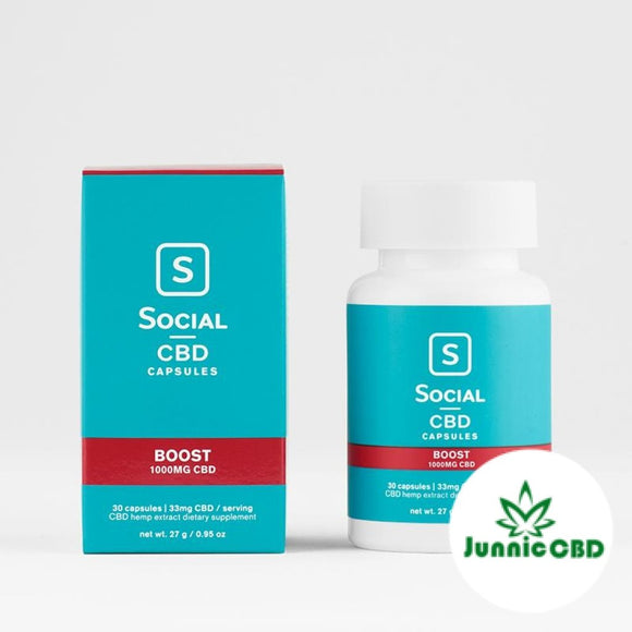 BOOST CBD GEL CAPSULES BY SOCIAL CBD - CBD Oil Online Store | Shop CBD Oil, Gummies, Balm, Capsules, Disposable, CBD For Pets, CBD Lotion, CBD Vape Devices & Cartridges,  CBD Tinctures and Spray