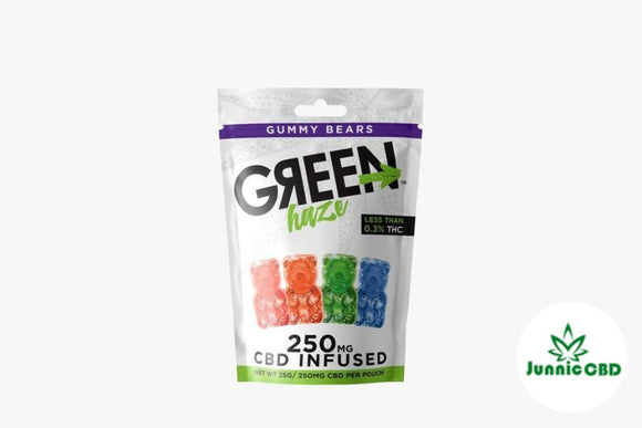 Cbd Gummies - 250Mg Green Haze By Wild Hemp Bears / 25G