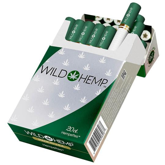WILD HEMP CIGARETTES 20CT.