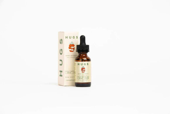 Full Spectrum Tincture by Hugs CBD | Organic Mango or Raspberry 500mg & 1000mg flavor - CBD Oil Online Store | Shop CBD Oil, Gummies, Balm, Capsules, Disposable, CBD For Pets, CBD Lotion, CBD Vape Devices & Cartridges,  CBD Tinctures and Spray