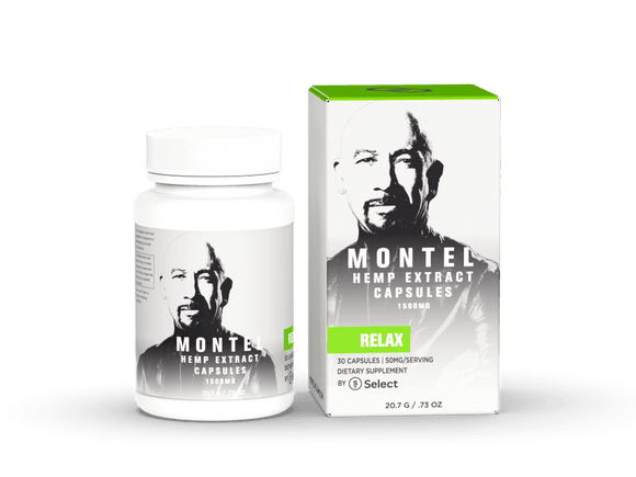 MONTEL BY SELECT CBD | 50 MG | GEL CAPSULES - CBD Oil Online Store | Shop CBD Oil, Gummies, Balm, Capsules, Disposable, CBD For Pets, CBD Lotion, CBD Vape Devices & Cartridges,  CBD Tinctures and Spray