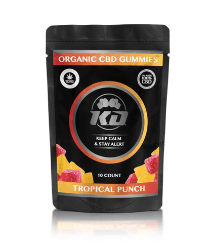 Tropical CBD Gummies by Knockout CBD