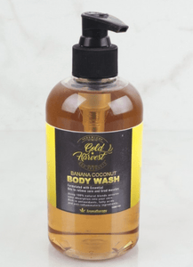 Gold Harvest Body Wash Banana Coconut CBD 150 mg - Hemp Oil Online Store