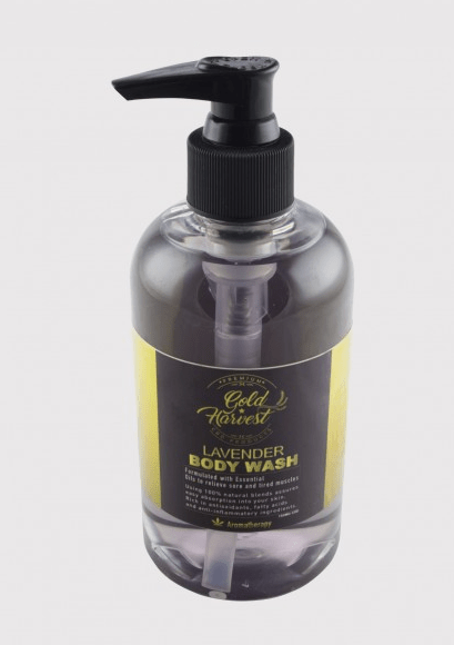 Gold Harvest Body Wash Lavender 150 mg - Hemp Oil Online Store